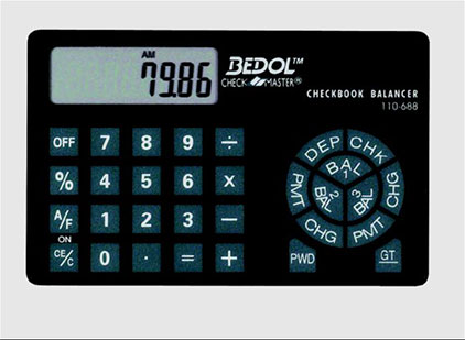 Credit Card Calculator, by Harland Clarke